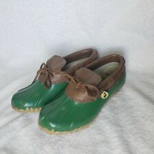 Women's Green Sporto Orginal Duck Rubber Boots Aroostic Size 6 M