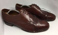 Men's Loake Ox Blood leather lace up shoes UK 10 Eu 44