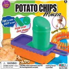 Potato CHIPS MAKER SLICER tranciatura MACCHINA STAMPO FORME PATATINE CUTTER CHOPPER TOY