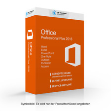 Microsoft Office Professional plus 79p-05552 2016 PC Open Business