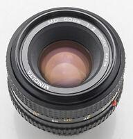 Minolta MD 1:2 2 50mm 50 mm Objektiv