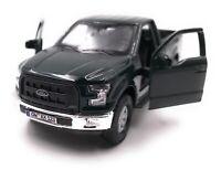 Ford Maquette de Voiture avec Wunschkennzeichen Raptor F-150 Pick-Up Truck Vert