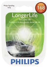 License Light Bulb-LongerLife - Twin Blister Pack Philips 168LLB2