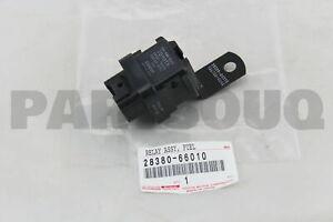 2838066010 Genuine Toyota RELAY ASSY, FUEL PUMP 28380-66010