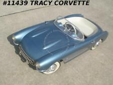 1957 Corvette Pedal Car Used Turquoise, Quite Detailed, Nice Collectors Piece 57
