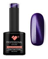 CE040 VB™ Line Cat Eye Purple Metallic - UV/LED soak off gel nail polish