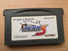 GYAKUTEN SAIBAN 3 GameBoy Advance Japan Import