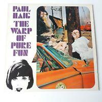 Paul Haig - The Warp of Pure Fun - Vinyl LP UK 1st Press EX/EX Synth Pop