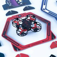 JUGUETRÓNICA Game of Skill and Competition Air Destroyer Game, Black and Red ...