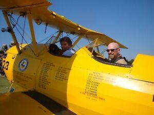 20 Minute Stearman Biplane Ride! #2