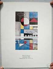 Hector Ragni Serigraphy Over Special Paper Construçao