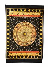 Art Wall Hanging Tapestry Small Poster Yoga Mat Ethnic Indian Home Decor Tie-Dye