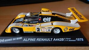 Alpine Renault A442B Winner Le Mans 24h 1978 Altaya LM 1/43