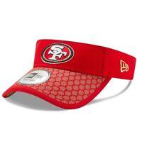 New RARE San Francisco 49ers New Era 2017 NFL Sideline Visor Hat Cap