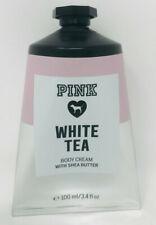 VICTORIA'S SECRET PINK WHITE TEA BODY CREAM LOTION HAND SHEA BUTTER 3.4 OZ