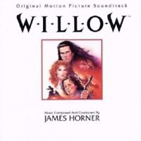 OST/WILLOW (COMPOSED & CONDUCTED BY JAMES HORNER) CD 8 TRACKS SOUNDTRACK NEW!