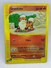 Growlithe | Reverse Holo | EX | Skyridge 62/144 | Common | Pokemon
