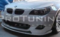 BMW E60 E61 Front M Sport Bumper spoiler lip chin tuning M Tech add on splitter