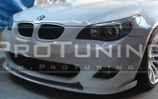 BMW E60 E61 Front M Sport Bumper spoiler lip chin tuning M Tech add on splitter