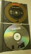Maxell CD laser lens cleaner Lot Of 2 Different types compact disc or DVD