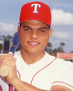 Texas Rangers IVAN RODRIGUEZ Glossy 8x10 Photo Baseball Print Poster