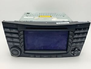 OEM 03-08 Mercedes-Benz E350 Radio Receiver CD Player GPS Navigation Display