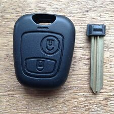Citroen Xsara Picasso 2 Button Remote Key Fob Case Shell & Blade for Repair