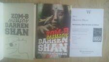 DARREN SHAN SIGNED ZOM-B MISSION 1/1 UK HB/DJ 2014 BRAND NEW UNREAD COPY ZOMBIES
