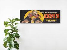 Levis Vintage Années 1950 bannière signe