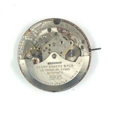 HENRY SANDOZ HSF97 AS1474N SWISS 17J AUTOMATIC WATCH MOVEMENT FOR PARTS/REPAIR