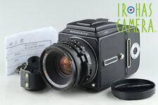Hasselblad 501C Medium Format SLR Film Camera + 80mm F/2.8 Lens + A12 #12341E4