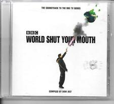 CD ALBUM BOF/OST 19 TITRES--SERIE TV--WORLD SHUT YOUR MOUTH--DOM JOLY