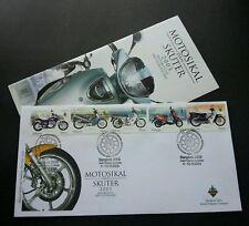 Motorcycles & Scooter Malaysia 2003 (Thailand Bangkok O/P Fdc) *rare *see scan