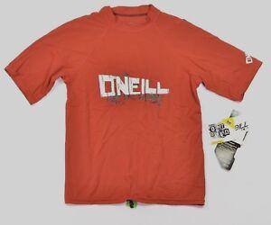 O'Neill Style #2320 Youth 24/7 Short Sleeve Crew Rashguard T-Shirt 14 Earth NEW