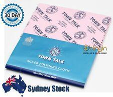 Town Talk Silver Jewellery Polishing Cloth 30x45cm / 12x18in