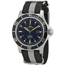 Glycine Combat SUB Automatic Mens Two Tone Nylon Watch GL0097