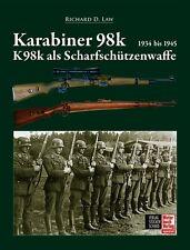 KARABINER 98K und K98k als Scharfschützen-Waffe Modelle Typen Gewehr Buch Law