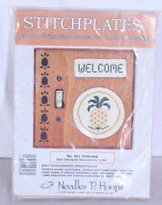 Stitchplates Counted Cross Stitch Kit Switchplate Cover Pineapple Welcome 803