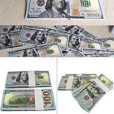 100 Bills Best Novelty Movie Prop Play Fake Money Joke Prank Not Legel Tender
