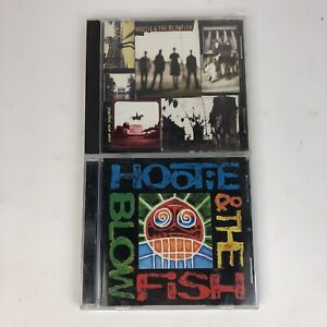 2 Hootie & The Blowfish CD Lot Cracked Rear View Debut Album Darius Rucker Rock