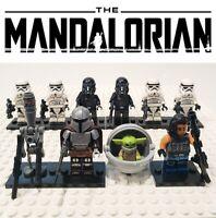 Star Wars The Mandalorian Battle Set 10 Custom Minifigures Lot - USA