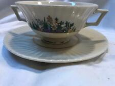 Footed Cream Soup Bowl & Saucer Set Rutledge by LENOX