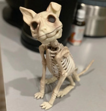Halloween Skeleton Cat Mouse Prop Animal Party Dog Bones Decor Ornaments
