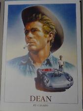 Plakat James Dean - By Casaro - Porsche 130 Original