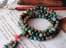 6mm natural Indian agate 108 beads bracelet energy resistance fatigue