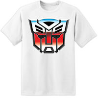 TRANSFORMERS AUTOBOTS RETRO T SHIRT ( S - 3XL ) HUGE PRINT DECEPTICONS OPTIMUS