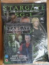 DVD COLLECTION STARGATE SG 1 PART 41 + MAGAZINE - NEW SEALED IN ORIGINAL WRAPPER