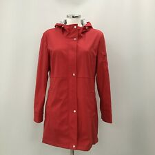 Ralph Lauren Water Resistant Jacket M UK 12-14 Red Hooded Casual Daily 292846