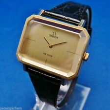 Gold Plated Case Women's Analog OMEGA Wristwatches