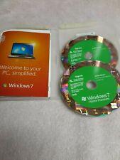 Microsoft Windows 7 Home Premium Upgrade, 32/64 bit With Product Key